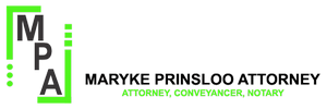 Maryke Law Logo